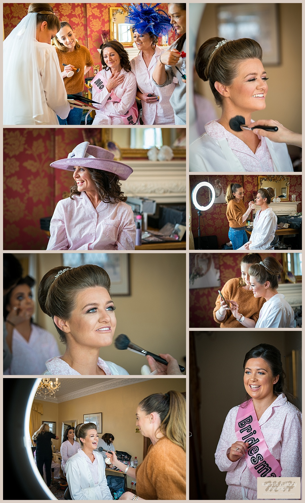 Wentbridge House Wedding Photographer - Bridal Preps