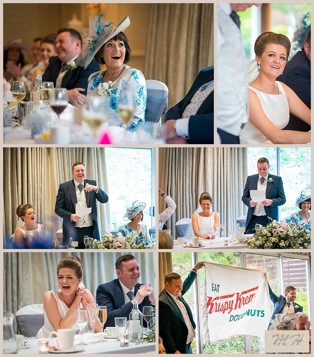 Wentbridge House Wedding Photographer - Speeches