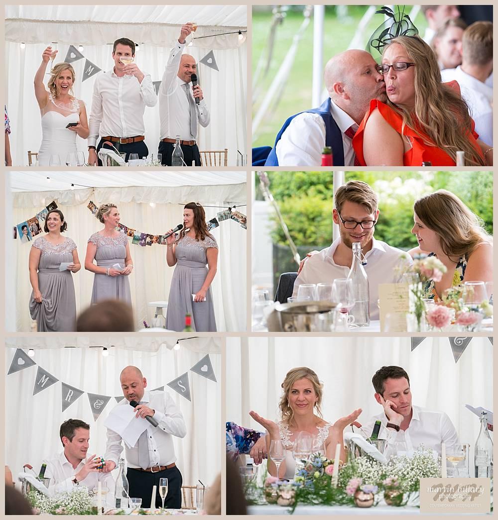 Middleton Lodge Wedding Photography - The Speeches