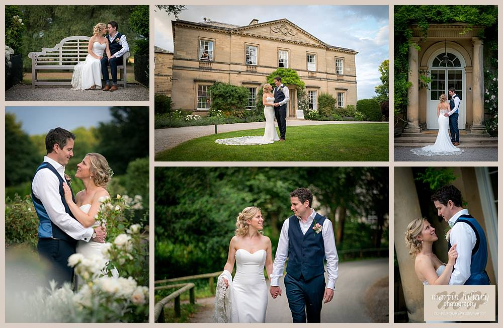 Middleton Lodge Wedding Photography - The Bride and Groom