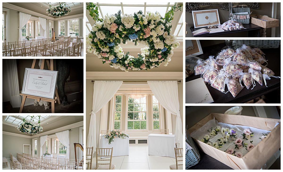 Wedding Photography at Saltmarshe Hall near Goole and Selby