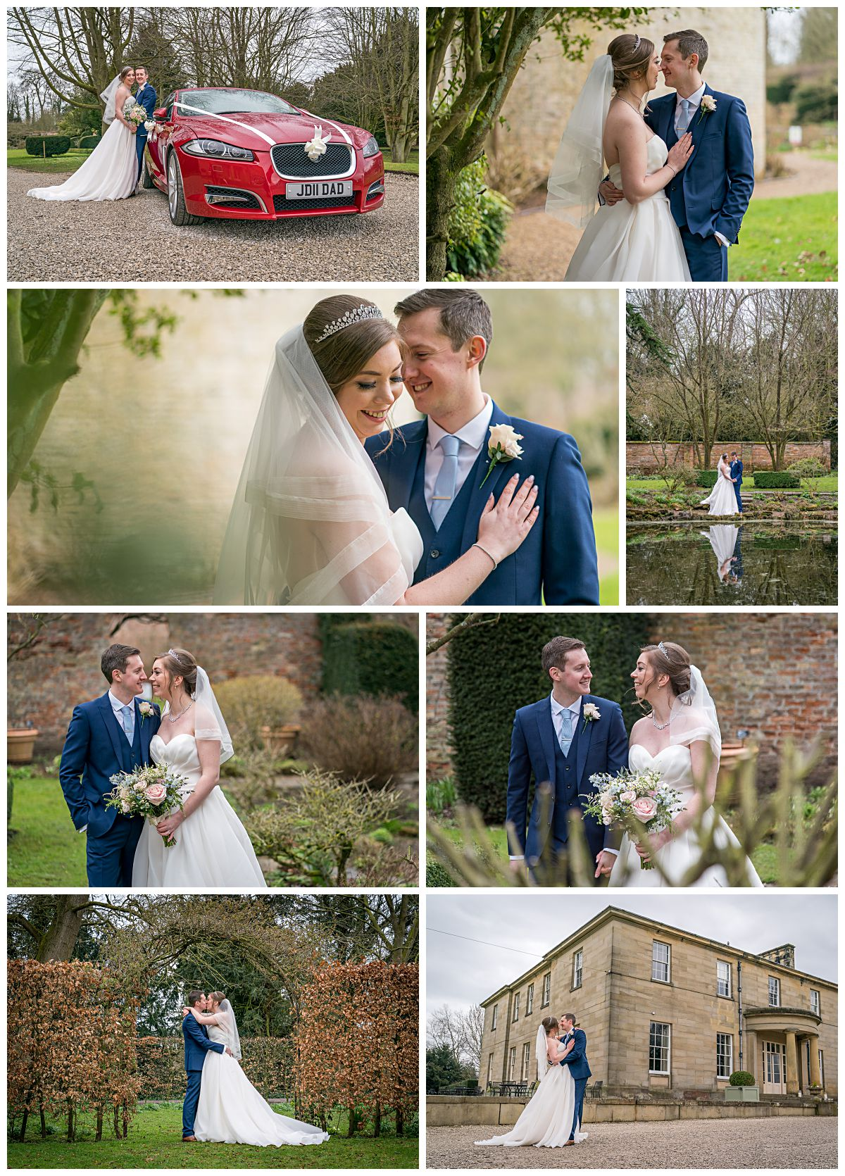Wedding Photography at Saltmarshe Hall, Selby, York and Goole