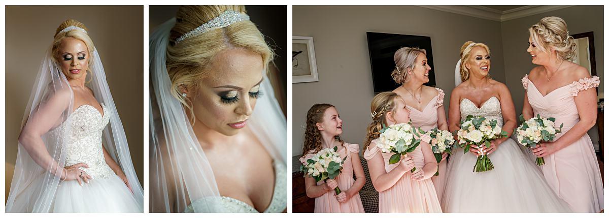 Bridal Wedding Photography Wentbridge House Hotel