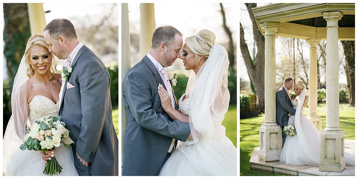 Bride and Groom Wedding Photography Wentbridge House Hotel