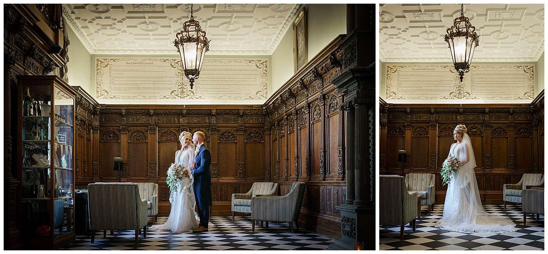 Wedding Photography at Hazlewood Castle in York