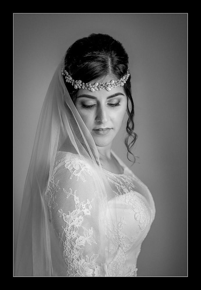 Stunnning bridal portrait in Pontefract